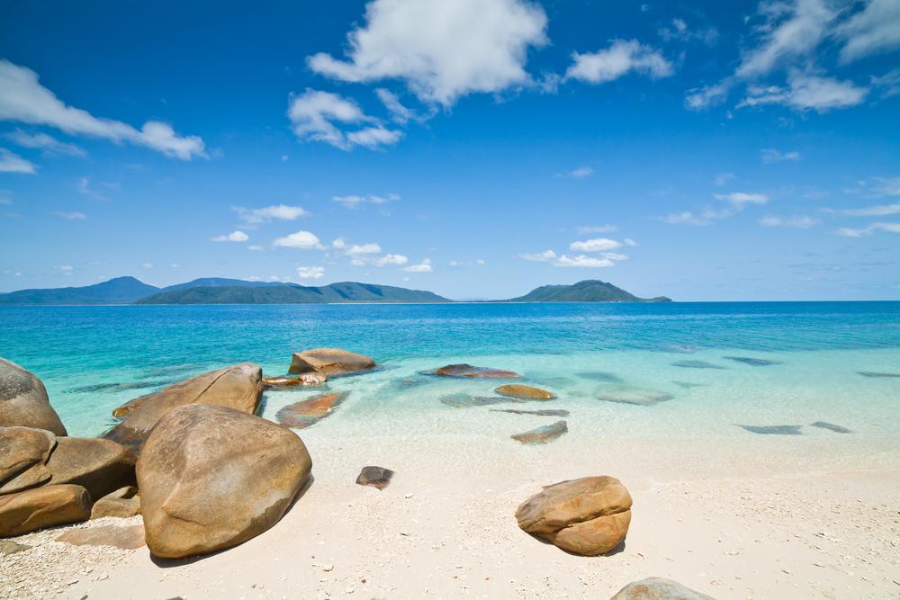 snorkel, swim, relax on the white sand