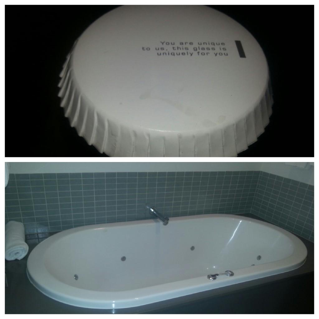 Lovely spa bath