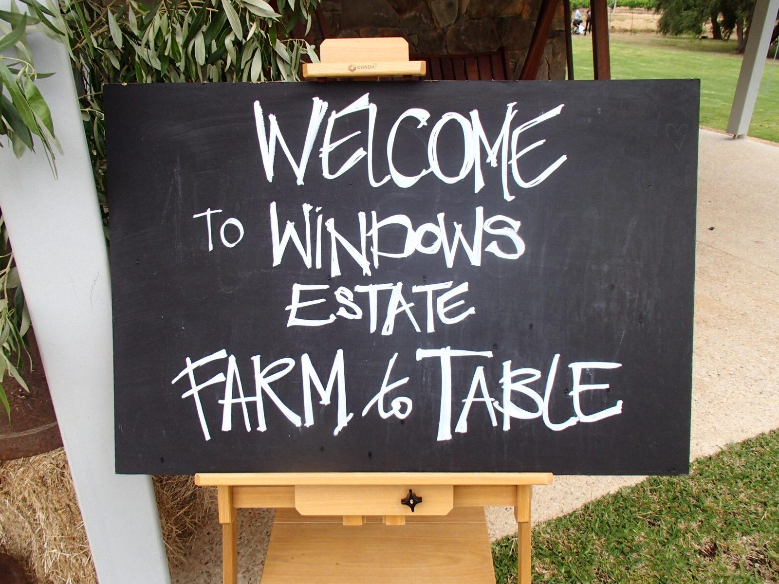 Windows estate Winery