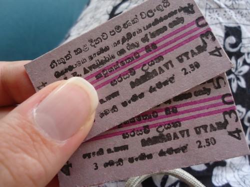 I've got my tickets.