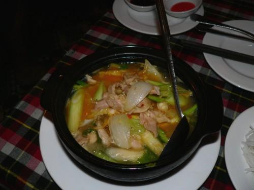 Pork claypot
