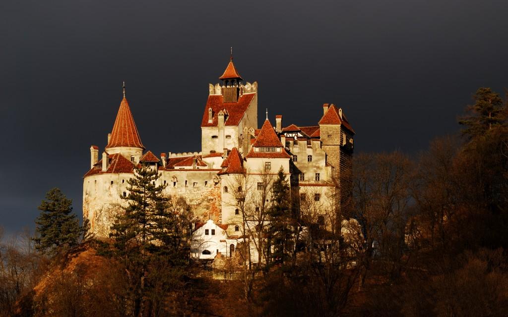 Bran Castle, Transylvania. Not at all creepy.