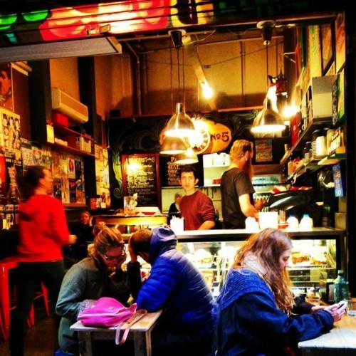 Laneway cafe, Melbourne
