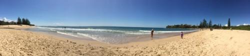 Moffat beach
