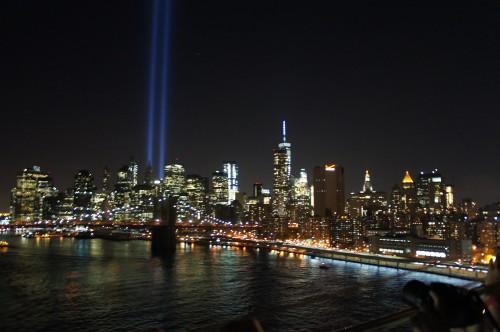 Tribute in Light' commemorating 9/11, New York