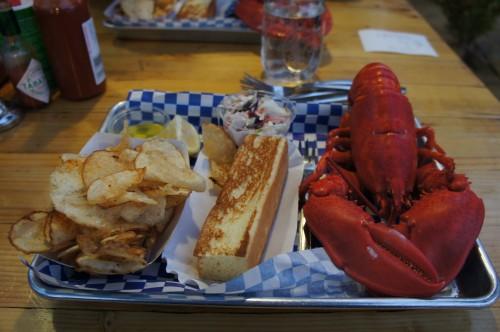 My lobster feast, San Francisco