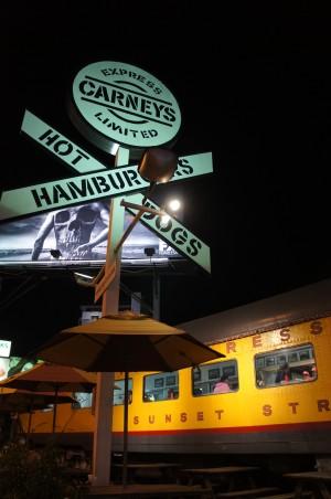 Carney's on Sunset Boulevard, Los Angeles