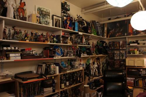 The prop room