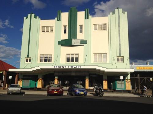 Mudgee's beautiful art deco architecture