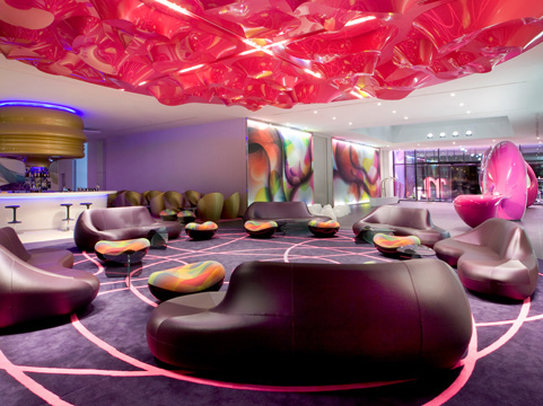 The nhow Berlin's lobby