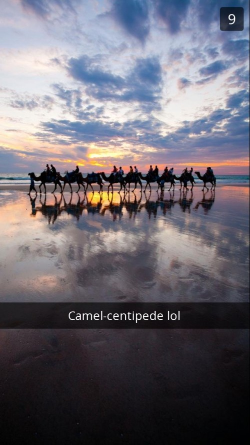 Cable Beach Snapchat