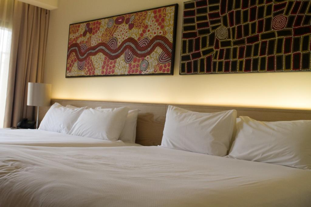 Lasseters Hotel & Casino... beds galore