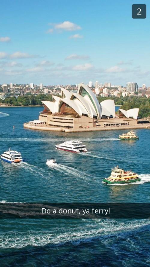 Sydney Opera House Snapchat