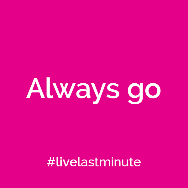 Travel mantras to help you #livelastminute