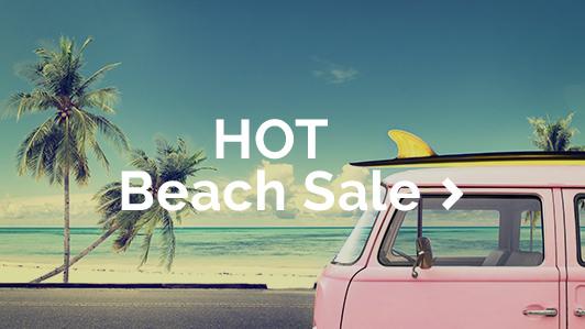 Book a beach holi-yay with our HOT Beach Sale!