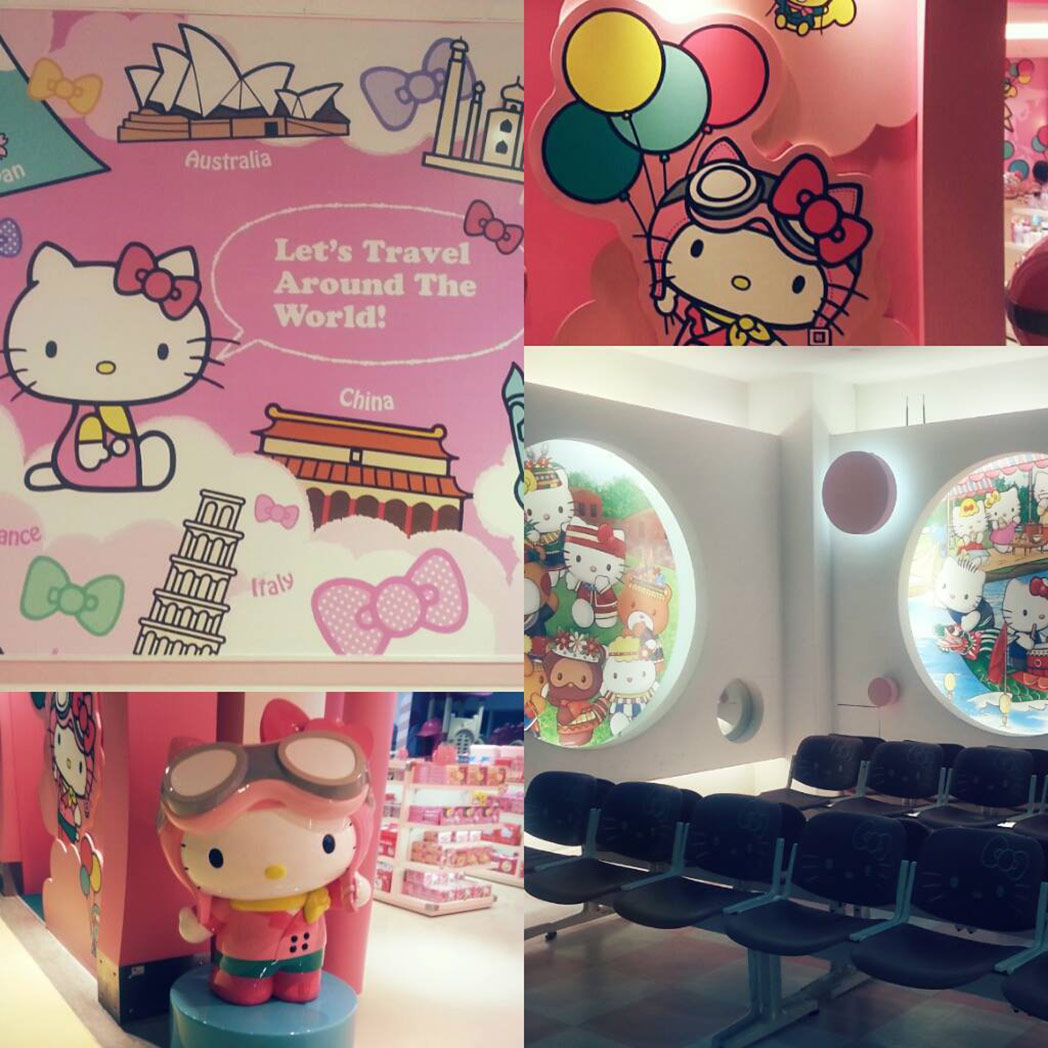 Hello Kitty Gate Taipei Airport