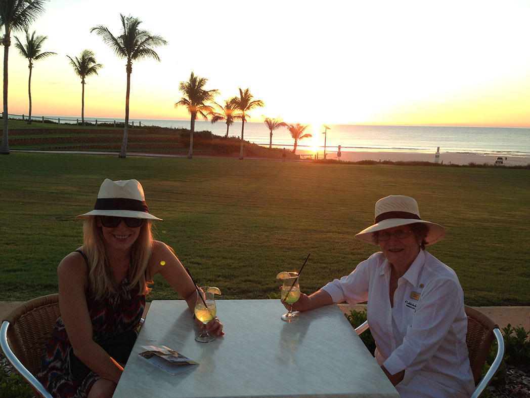 sunset bar cable beach broome