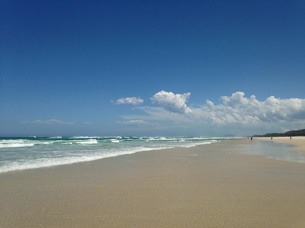 mantra on salt beach