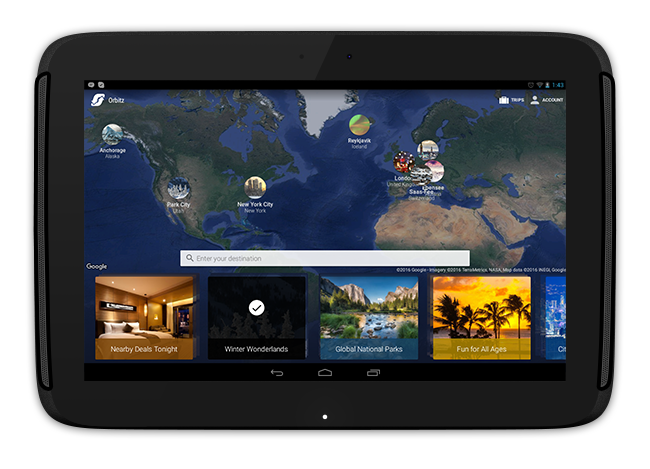 Travel apps best hotel flight booking apps for your for Tablet hotel booking