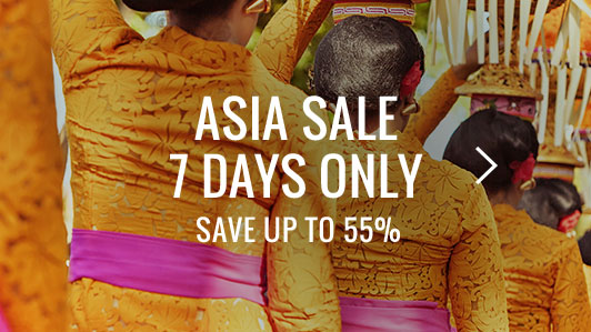 Save on Hotels & Packages in Asia