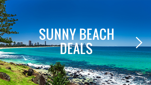 Soak up some sun with our Sunny Beach Deals