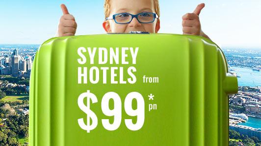 Sydney from $99