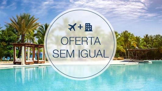 Economize muito mais reservando voo + hotel
