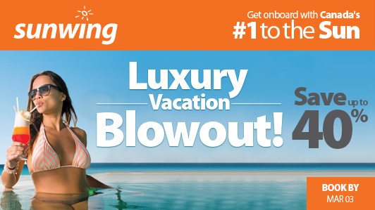 Luxury Vacation Blowout!