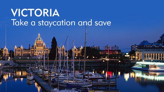 Hotel discounts in Victoria