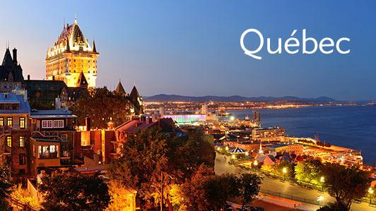 Hôtels à rabais à Québec