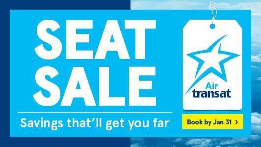 Air Transat Flight Deals