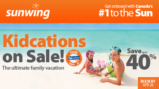 Kidcations on Sale!