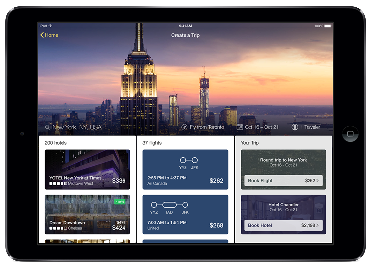 Introducing the New Expedia Tablet App