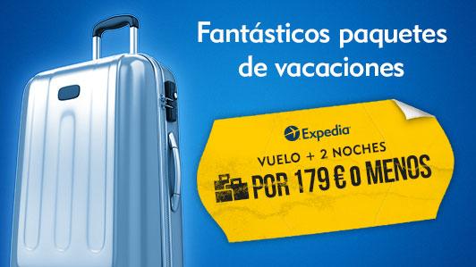 Vuelo + hotel a precios de low cost