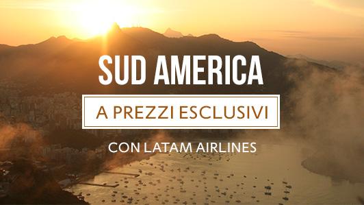 Parti per il Sud America