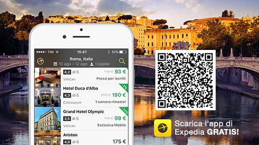Scarica l'app di Expedia gratis