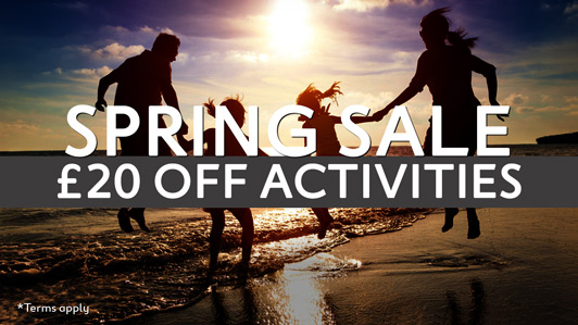 Spring Activity Sale on now!