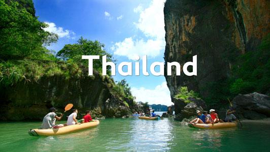 En tur til det smukke og varme Thailand.