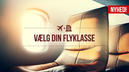 Gør din rejse mere komfortabel med en opgradering på din fly-rejse!