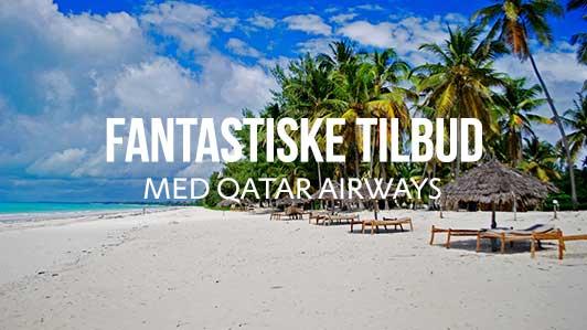 Spar penge på din næste rejse med Qatar Airways!