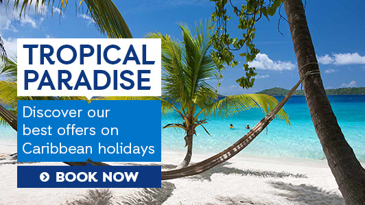 Escape to the Caribbean today!