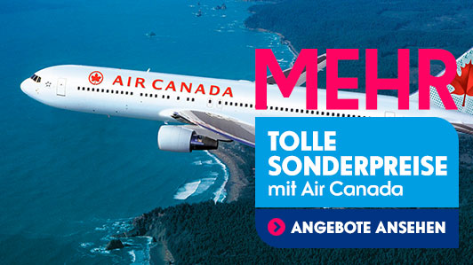 ❄️ JANUAR-AKTION ❄️ MEHR Deals mit Air Canada
