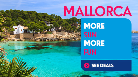 ESCAPE TO SUNNY MALLORCA