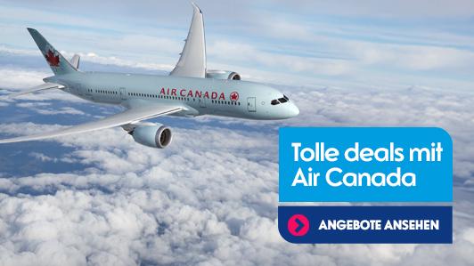 MEHR Deals mit Air Canada