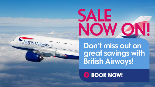 British Airways sale is now on. Discover great savings now!