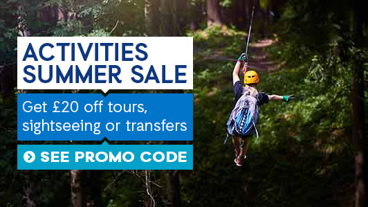 Enjoy £20 off* on your next transfer or activity . *Terms Apply.