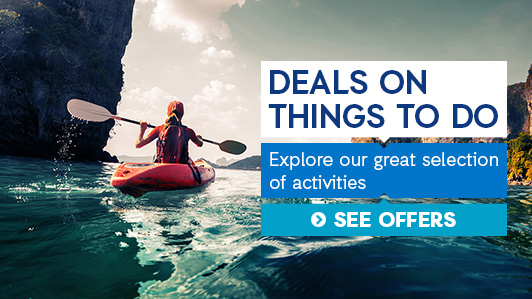 Find your next adventure: from theme park tickets to kayaking adventures, some of the coolest activities around the world are right here!