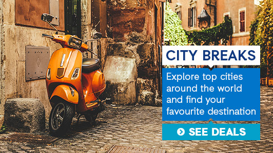 Find amazing city breaks deals at ebookers