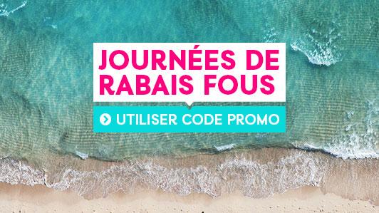 JOURNÉES DE RABAIS FOUS