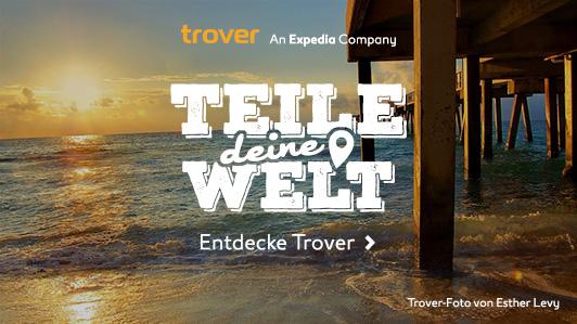Trover – Die Foto-App für Reisende